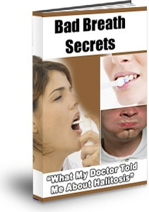 Ebook cover: Bad Breath Secrets