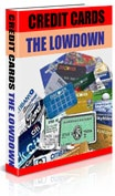 Ebook cover: Credit Cards The Lowdown
