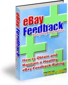 Ebook cover: eBay Feedback - Keeping it Positive