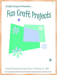 Ebook cover: Fun Craft Projects