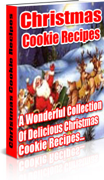Ebook cover: Christmas Cookie Recipes