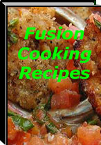 Ebook cover: Fusion Cooking Recipes