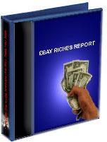 Ebook cover: Ebay riches report