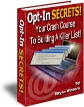 Ebook cover: Opt-In Secrets!