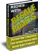 Ebook cover: Riches with Resale Rights