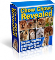 Ebook cover: Chow Chows Revealed