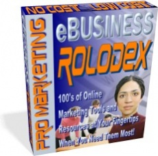 Ebook cover: eBUSINESS ROLODEX
