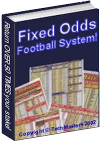 Ebook cover: Fixed Odds Football System!