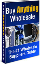 Ebook cover: Buy Anything Wholesale