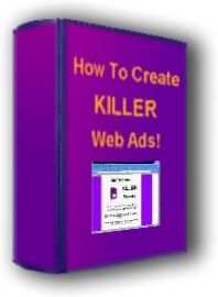 Ebook cover: How To Create Killer Web Ads