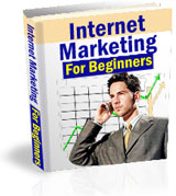 Ebook cover: Internet marketing for beginners