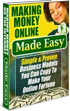 Ebook cover: Making Money Online Made Easy