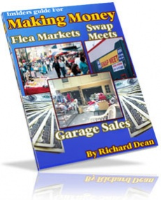 Ebook cover: Insiders Guide For Making Money- Flea Markets,Garage Sales,Swap Meets