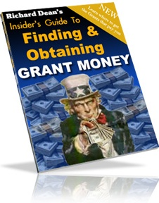 Ebook cover: Finding And Obtaining Grant Money