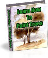 Ebook cover: TREES and HOW to paint them in Watercolours!