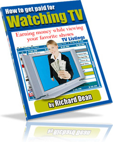 Ebook cover: How To Get Paid To Watch TV