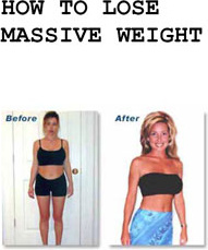 Ebook cover: How to lose massive weight