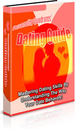 Ebook cover: Personality Quadrants Dating Guide