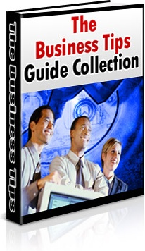 Ebook cover: Business Tips Guide Collection