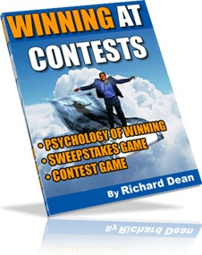 Ebook cover: Winning At Contests
