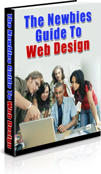 Ebook cover: The Newbies Guide To Web Design