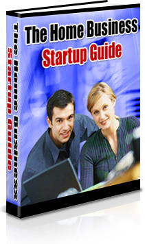 Ebook cover: The Home Business Startup Guide