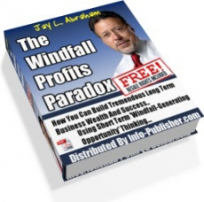 Ebook cover: The Windfall Profits Paradox