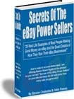 Ebook cover: Secrets of the eBay Power Sellers