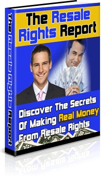 Ebook cover: The Resale Rights Report