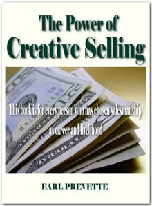 Ebook cover: The Power of Creative Selling