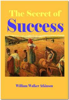Ebook cover: The Secret Of Success
