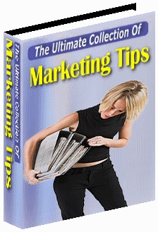 Ebook cover: The Ultimate Collection Of Marketing Tips