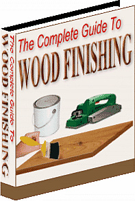 Ebook cover: The Complete Guide To Wood Finishing