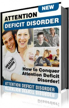 Ebook cover: Overcoming Attention Deficit Disorder