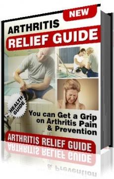 Ebook cover: Arthritis Pain Relief & Prevention