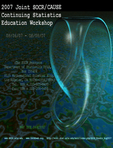 Ebook cover: Continuing Statistics Education Wokrshop Handbook
