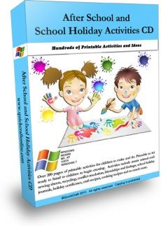 Ebook cover: After School Printable Activities