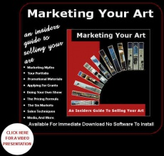 Ebook cover: Marketing Your Art
