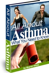 Ebook cover: All About Asthma