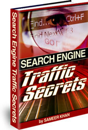 Ebook cover: Search Engine Traffic Secrets
