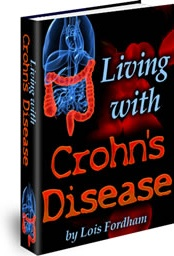 Ebook cover: Living With Crohn's Disease