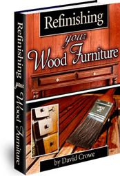 Ebook cover: Refinishing Your Wood Furniture