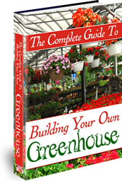 Ebook cover: Building Your Own Greenhouse