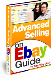 Ebook cover: Advanced Selling on Ebay