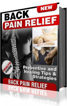 Ebook cover: Back Pain Relief