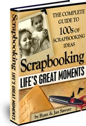 Ebook cover: Scrapbooking Life's Great Moments