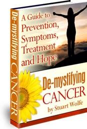 Ebook cover: De-Mystifying Cancer
