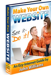 Ebook cover: Make Your Own Website