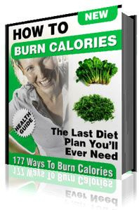 Ebook cover: 177 Ways To Reduce and Burn Calories