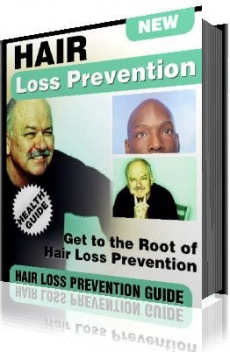 Ebook cover: Hair Loss Prevention